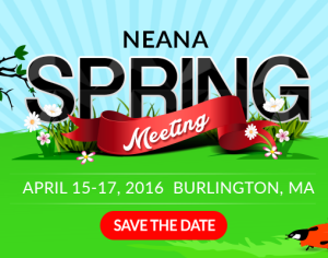 NEANA Spring Conference –Burlington, MA @ Burlington   Vermont   United States